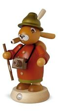 Mueller Traditional German Smoker Rauchermann Easter Bunny Rabbit Tourist