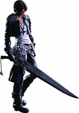 Officially Licensed Final Fantasy Squall Leonhart Play Arts Kai Action Figure