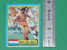 VAN AERLE NEDERLAND PSV EINDHOVEN FOOTBALL 1989-1990 VALLARDI MINI CARD PANINI