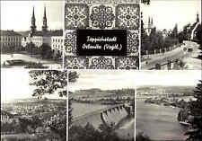 Oelsnitz Vogtland Teppich-Stadt DDR Mehrbild-AK ua. mit Adorfer Strasse, Pirk