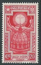 1933 REGNO ANNO SANTO 20 CENT MNH ** - CZ29-7