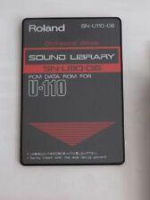 ROLAND SN-U110-06 orchestral vents carte d'extension bibliothèque sonore U-20 U-220