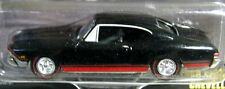 JOHNNY LIGHTNING 68 1968 CHEVROLET CHEVY CHEVELLE BLK AUTH MUSCLE CAR USA W/RRs