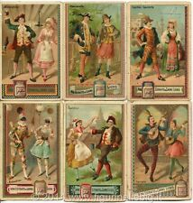Chromo Liebig Sang. 149 ITA Maschere Italiane I ANNO 1883/85
