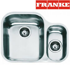 FRANKE AMX 160 1.5 Bowl Undermount Kitchen Sink Stainless Steel Waste&Overflow