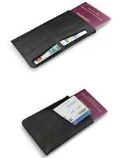 Real Leather Passport Holder For All UK & European Passports
