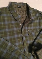 DC Reversible Light Jacket XXL 2X Plaid