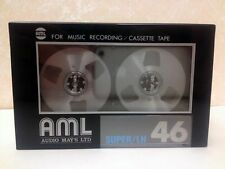 AML SUPER/LH 46 RARE REEL TO REEL BLANK AUDIO CASSETTE TAPE NEW JAPAN MADE