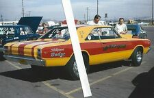 "1960s NHRA Drag Racing-Bill Bagshaw's 1968 Dodge 426Hemi Dart-""RED LIGHT BANDIT"""