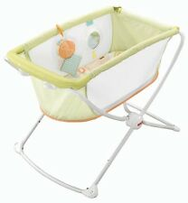 NEW! Fisher-Price Rock 'n Play Portable Bassinet with Elevated Sleeping Area