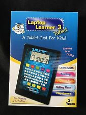 Laptop Learner 3 Tablet Includes 60 Games and Activities 3+ By Lemon Bee Toy Co