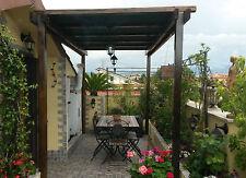 Pergola in legno 4x2 gazebo da giardino pompeiana pergolato autoportante