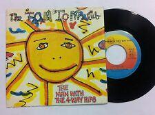 45 GIRI VINILE   TOM TOM  CLUB THE MAN WITH THE 4 WAY HIPS/ NUOVO D'EPOCA