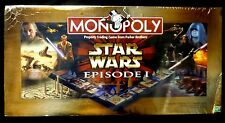 Star Wars Hasbro Monopoly Game Episode 1 1999 New Shrink Wrapped