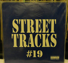 sealed 3Lps STREET TRACKS #19 / 45rpm for Pro DJ Coolio HAMMER Nas US3 Psycho ..