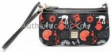Disney Dooney & Bourke 2016 Star Wars Marathon DARK SIDE Wristlet Real Pics #5