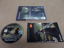 PS2 PlayStation 2 Pal Game VAN HELSING With Box Instructions