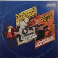 The Three Musketeers & Oliver Twice - Errol Flynn 33RPM P13902  092416LLE #2
