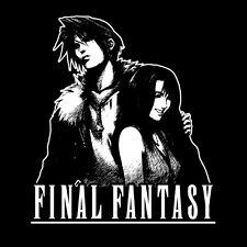 Squall and Rinao T-shirt * Final Fantasy , Playstation , Video Game , Shirt