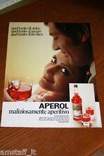 BH6=1972=APEROL APERITIVO=PUBBLICITA'=ADVERTISING=WERBUNG=