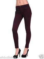 J Brand Womens 812 Zoey Triple Zip Skinny Jeans in Lava Sz 25 NWoT $228  821O241