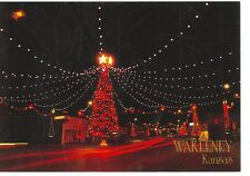 WAKEENEY KANSAS, CHRISTMAS TREE TOWN DECORATIONS (CD#101*)