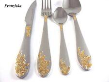 24 Piece Cutlery Set Stainless Steel SILVER/GOLD Frank Moller Franziska