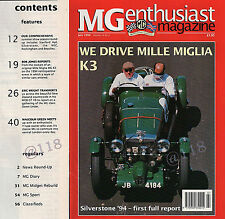 Return of MG K3s to the MILLE MIGLIA - MG Enthusiast Magazine July 1994 (14.4)