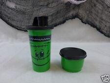 Tupperware Halloween Tumbler & Snack Cup Tupperware Kids Monster Green & Black