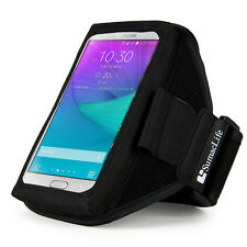Neoprene Sports Running Armband Case Pouch for Samsung Galaxy Note 4 / Note Edge