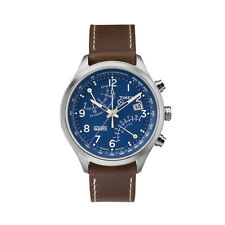 Timex Men Intelligent Quartz Fly Back Chronograph Blue Dial Watch TW2P78800 NEW