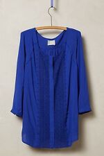 Anthropologie Crescent Street Buttondown, by Maeve - Blue, size 2 - NEW!