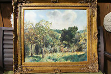 Julyan Davis Oil Painting, Art, Forest, Mountain, American South, framed, signed