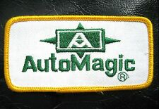 "AUTO MAGIC EMBROIDERED SEW ON PATCH CAR DETAILING POLISH COMPANY 4"" x 2"""