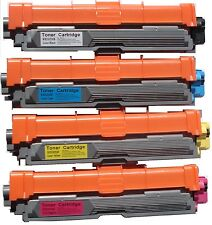 4PK Toner Cartridges TN221& TN225 for Brother HL3140CW MFC9130CW