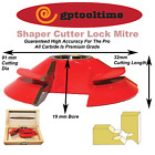 Shaper Cutter Lock Mitre SCLM32 Mitre Lock Joint 19 mm Bore