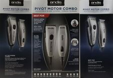 ANDIS Professional Speed Master Clipper + Pivot Pro Trimmer 23965 Motor Combo