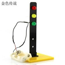 Children Traffic Lights Building Toys DIY Kids Assembled Educational Experiment