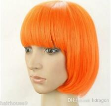WOMEN'S SEXY SHORT BOB CUT FANCY DRESS WIGS PLAY COSTUME LADIES FULL WIG PARTY