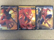 NEW Sealed DVD Films * SPIDER-MAN Film TRILOGY 1 2 & 3 DVD Movies * Spiderman