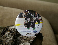 Hockey 18 Dave Sutter Defense Seattle Thunderbird Round Metal Pin Pinback Button