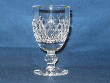 "1 Waterford Crystal 4¾"" Claret / Port Wine Goblet Cut Crystal ~ BOYNE Pattern"