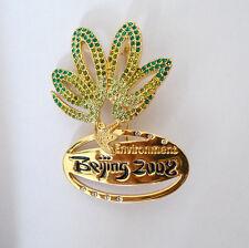 China Beijing 2008 Olympic Games environment mark  souvenirs crystal pin badge