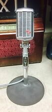 Vintage 1950's Astatic 77A Dynamic cardioid microphone with accessories