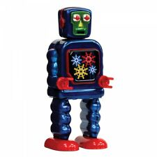 ENESCO  - SAINT JOHN - GEARING ROBOT - MECHANICAL WIND UP TIN TOY - NEW IN BOX