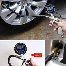 Popular Car Auto Digital Tire Pressure Gauge Meter Tire Air Inflator Tool 220PSI