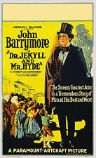 Dr Jekyll & Mr Hyde Horror Film Vintage Movie Cinema Poster Print Picture A3