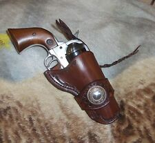 "COWBOY/WESTERN DUKE STYLE HOLSTER,RUGER VAQUERO/ COLT SAA 3 3/4"" or 5 1/2""CHOICE"