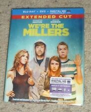 New We're The Millers w/Lenticular Slipcover Blu-ray DVD Digital HD Extended Cut