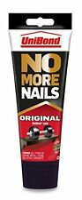 12 x Unibond No More Nails Original Interior/Indoor Use 200ml Tube Instant Hold